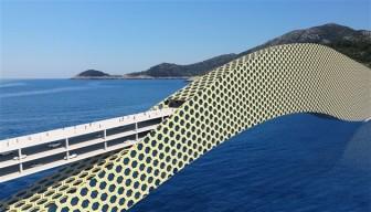 Pelješki most - Plavec